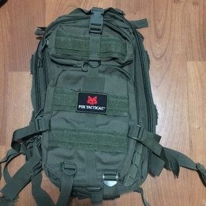 Fox Tactical tactical backpack - Olive Green 5520b7ab5df9d